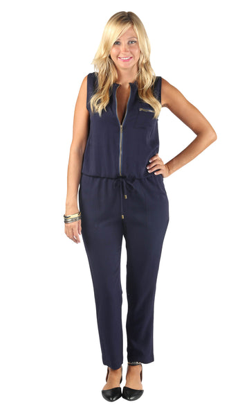 Pam Sleeveless Jumpsuit
