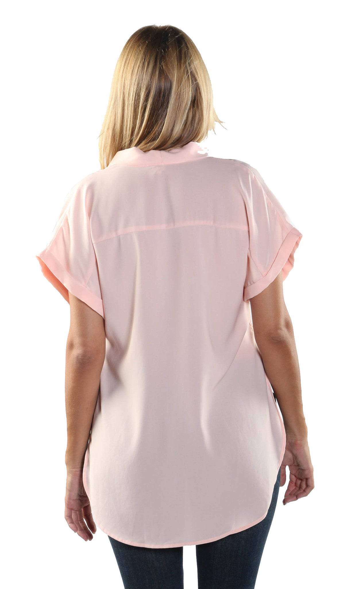 Stacy Short Sleeve Blouse