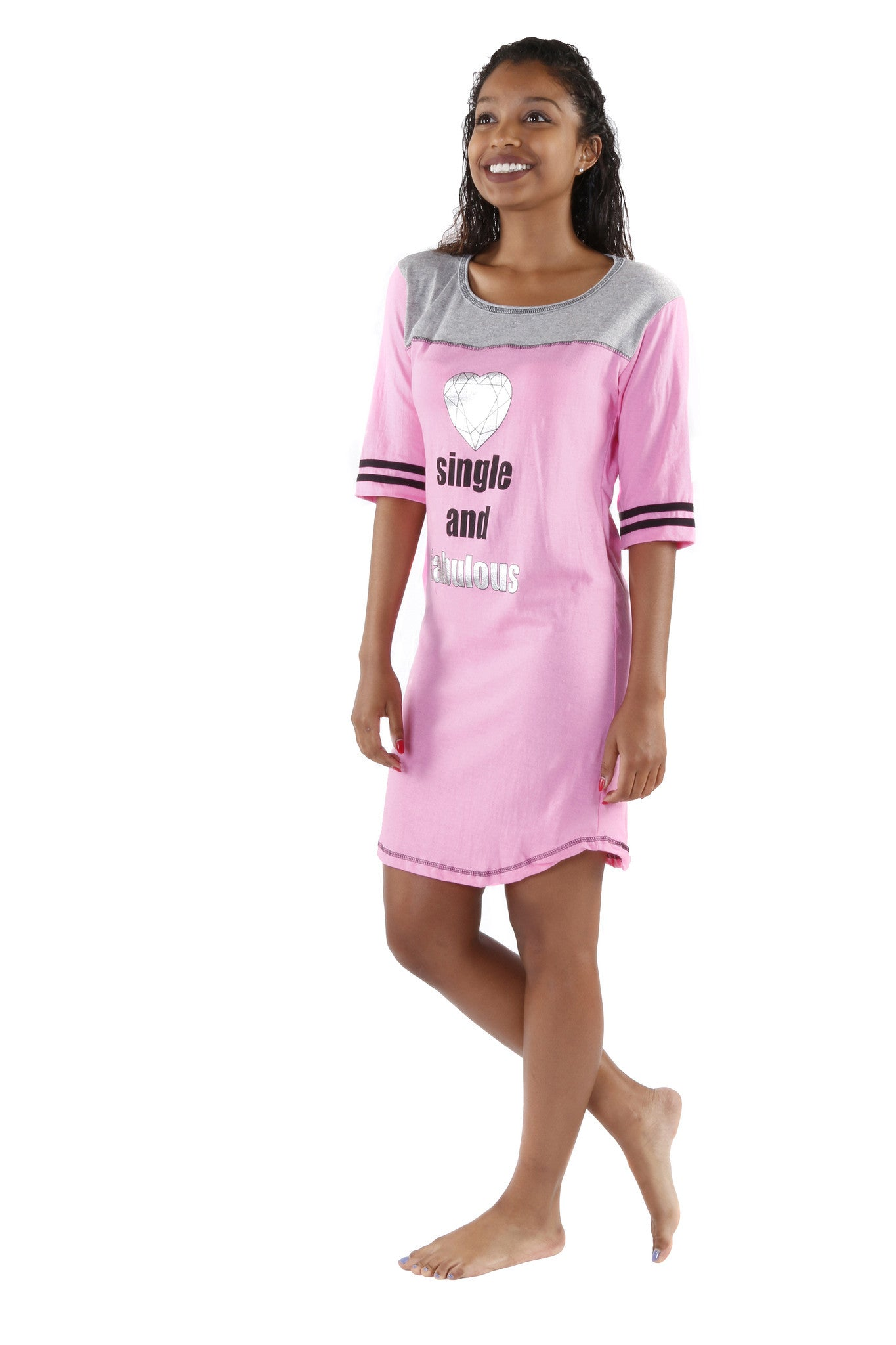 Sleepwear Shirt Dress
