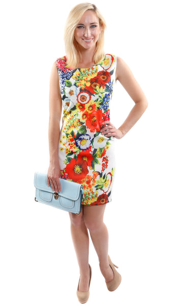 Chantelle Sleeveless Floral Dress