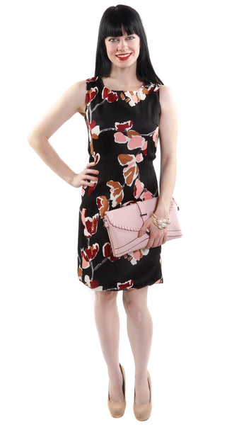 Hayden Sleeveless Floral Shift Dress