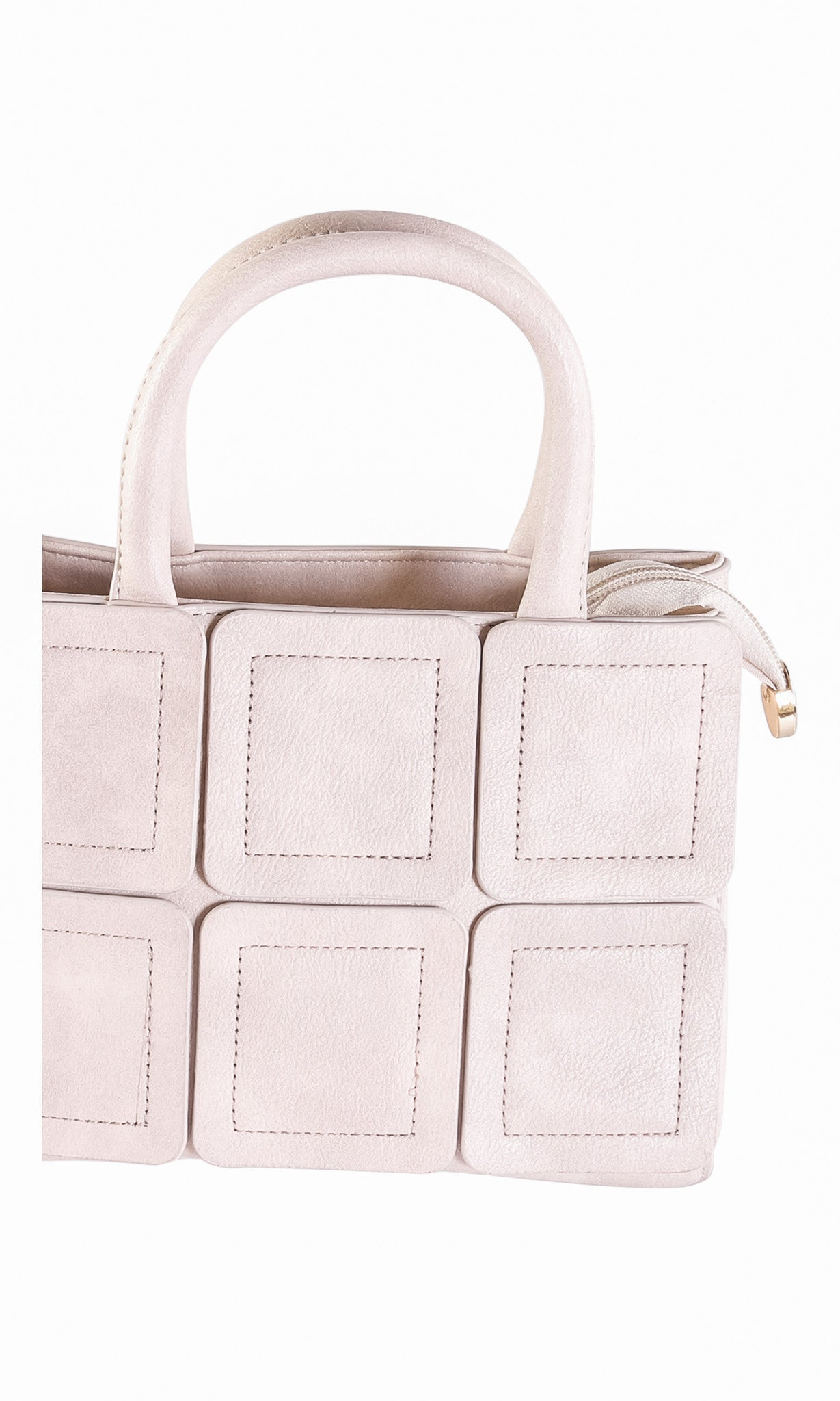 Square Quilted Tote Bag