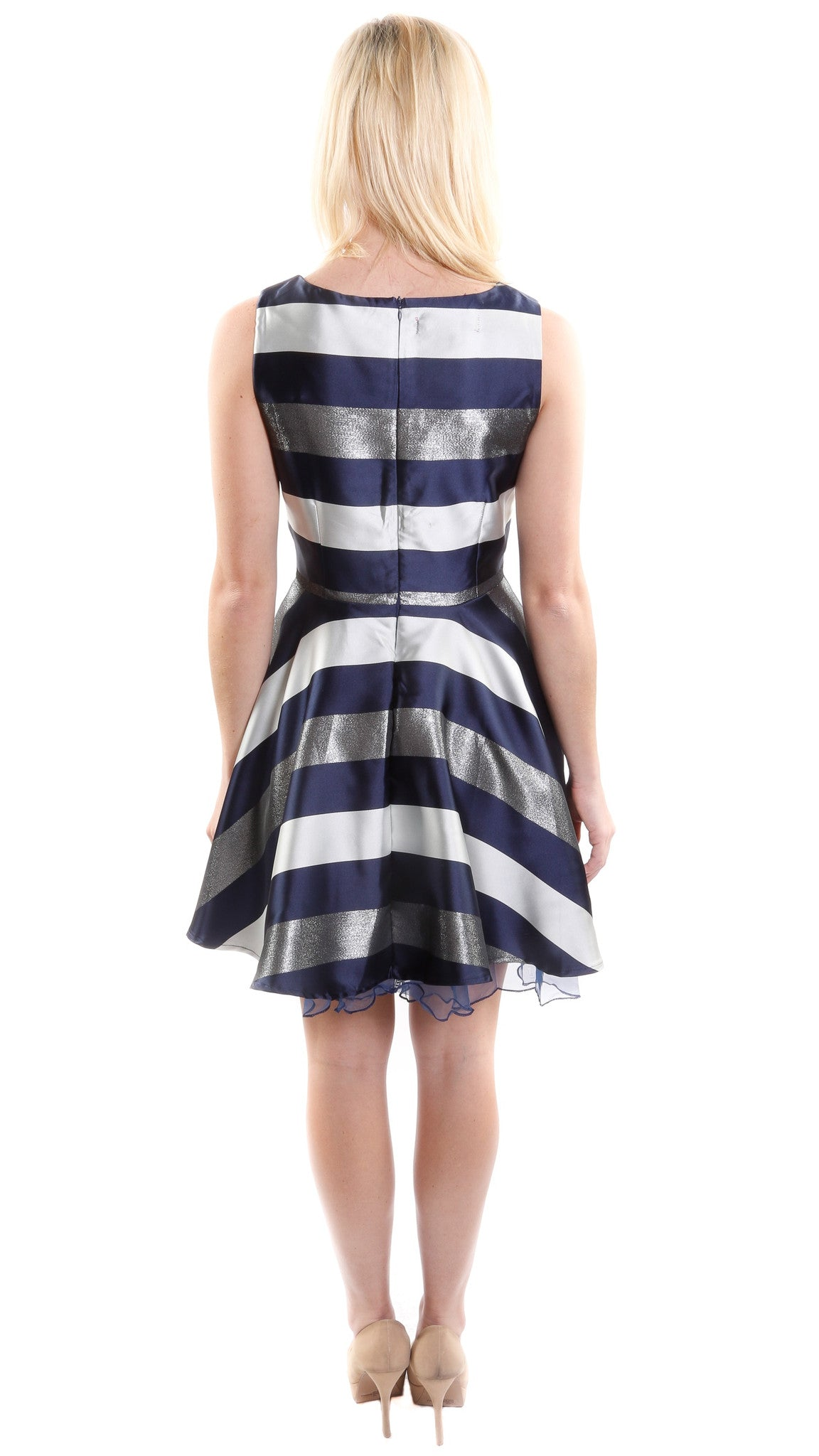 Sleeveless A-Line Cocktail Dress