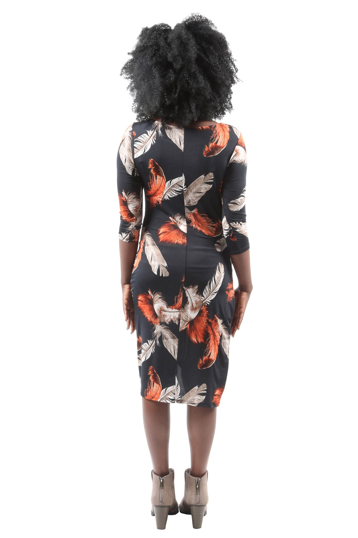 Liz Asymmetrical High Low Dress