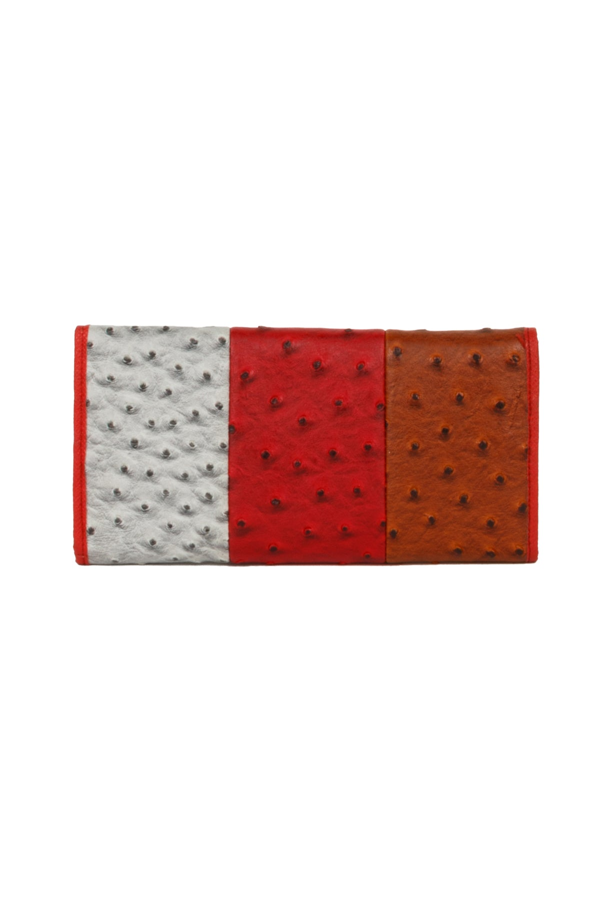 Textured Trifold Fashion Wallet