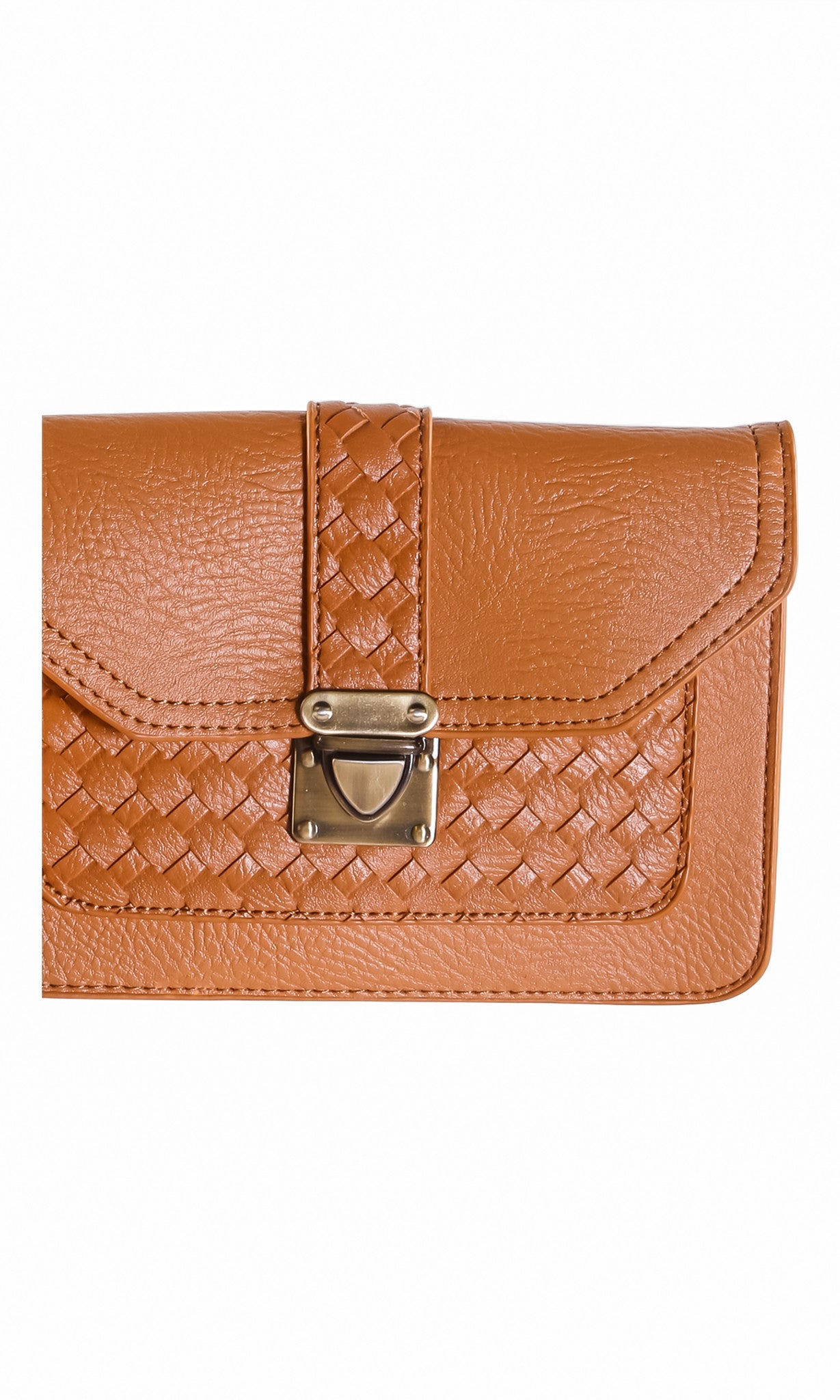 Quilted Mini Envelope Clutch