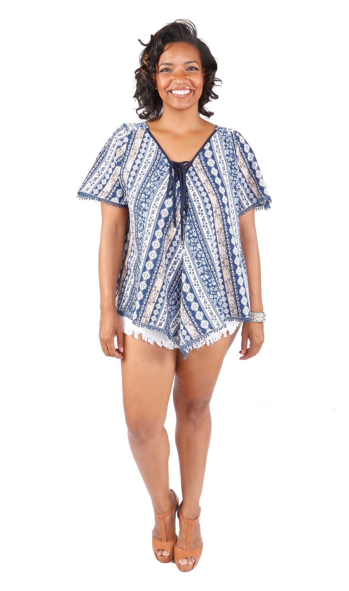Plus Size Hot Summer (2 Piece Set)