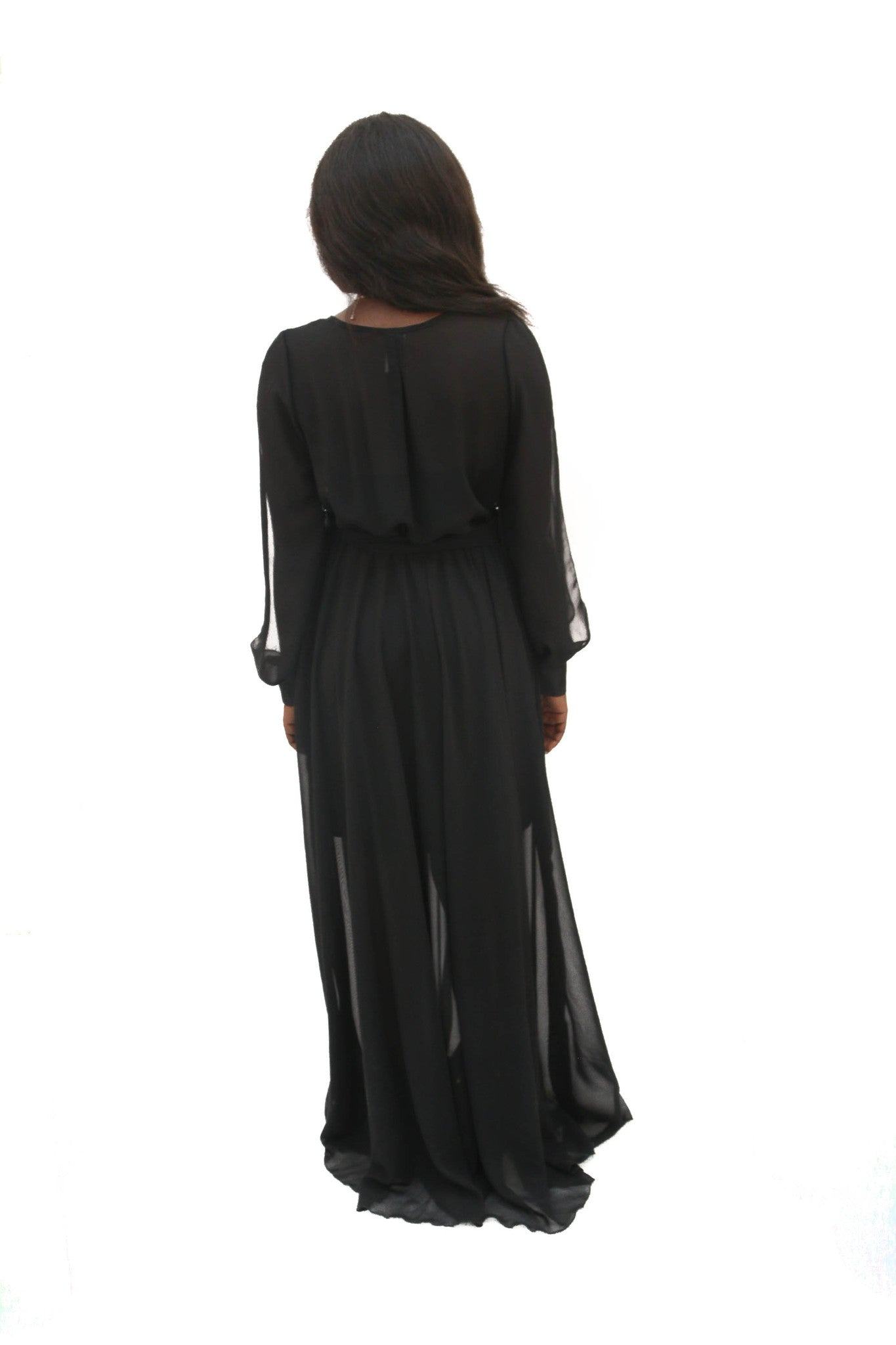 Lizette Sheer Maxi Dress