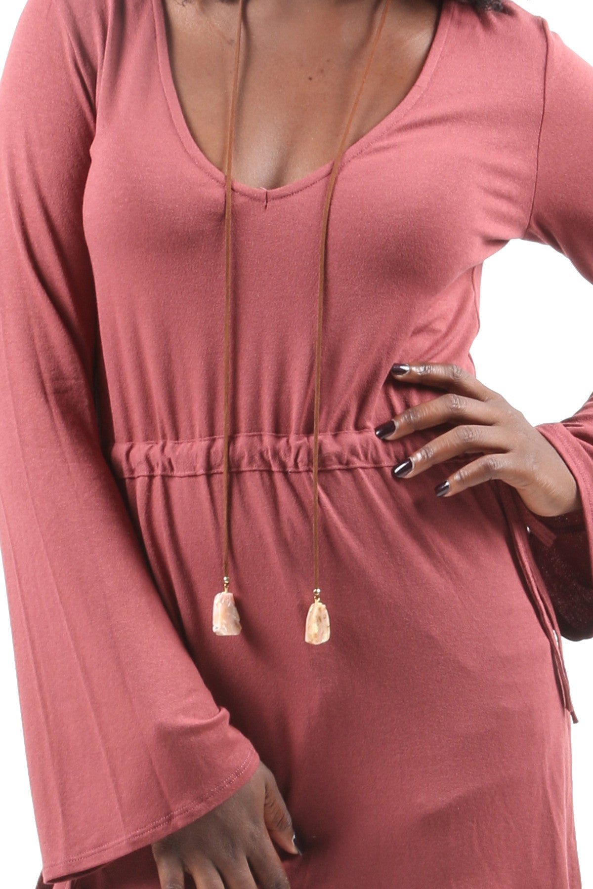 Bell Sleeve Loose Blouse