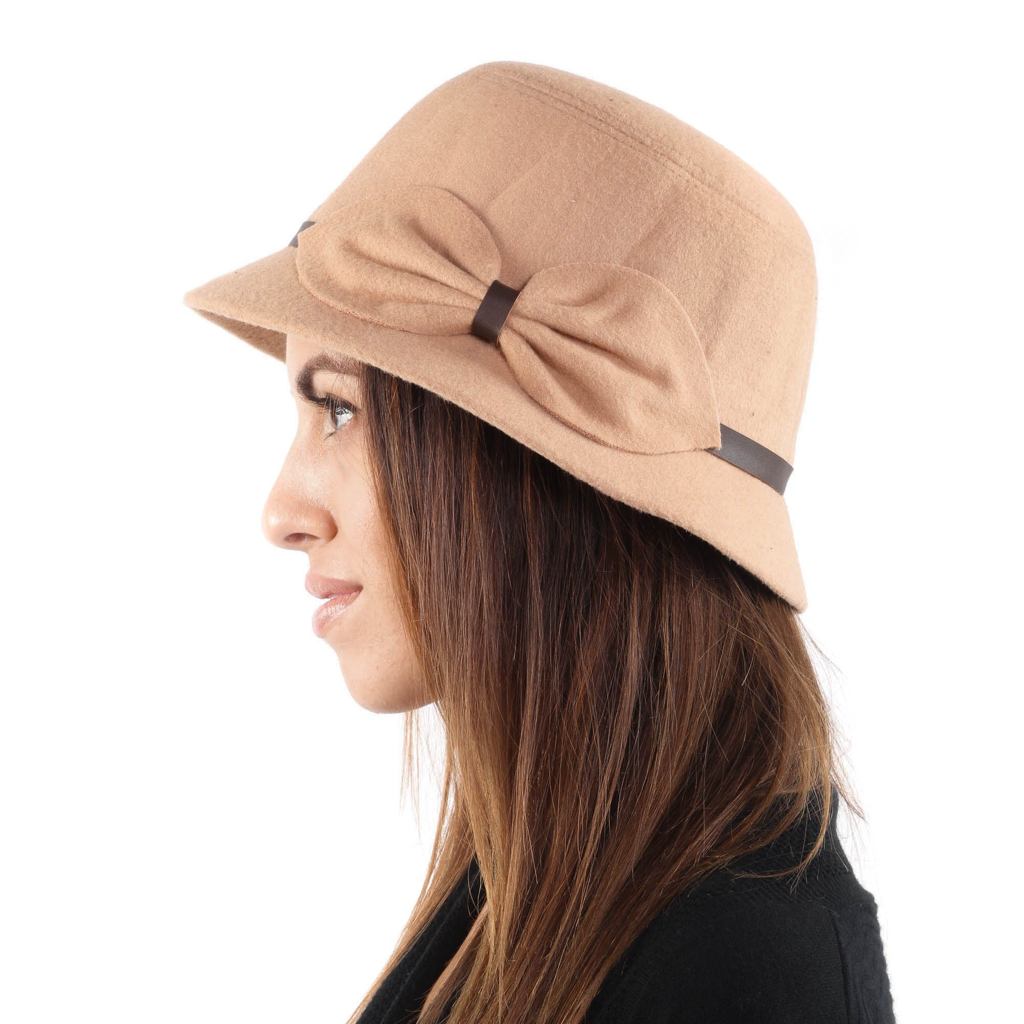 Ribbon Bucket Fashion Hat