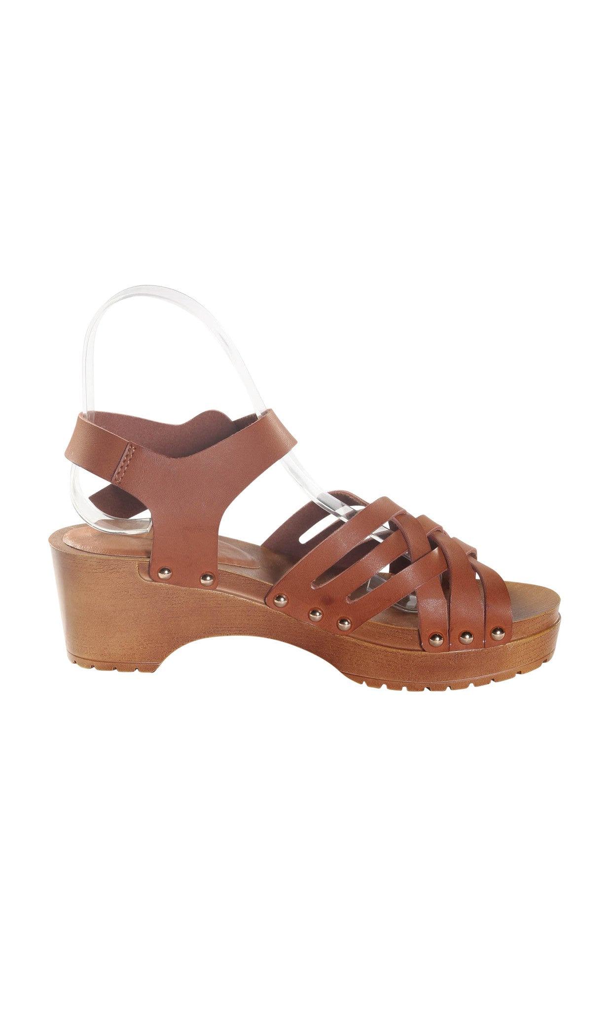 Open Toe Criss Cross Sandal