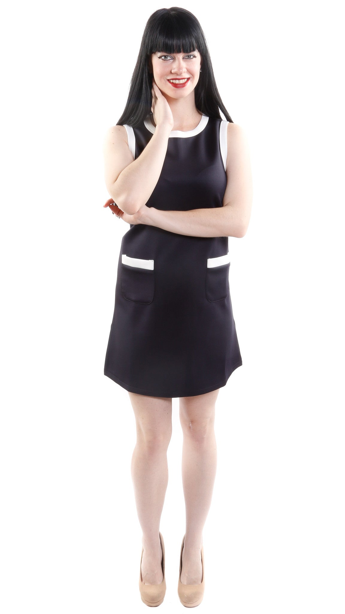 Maddie Sleeveless Shift Dress