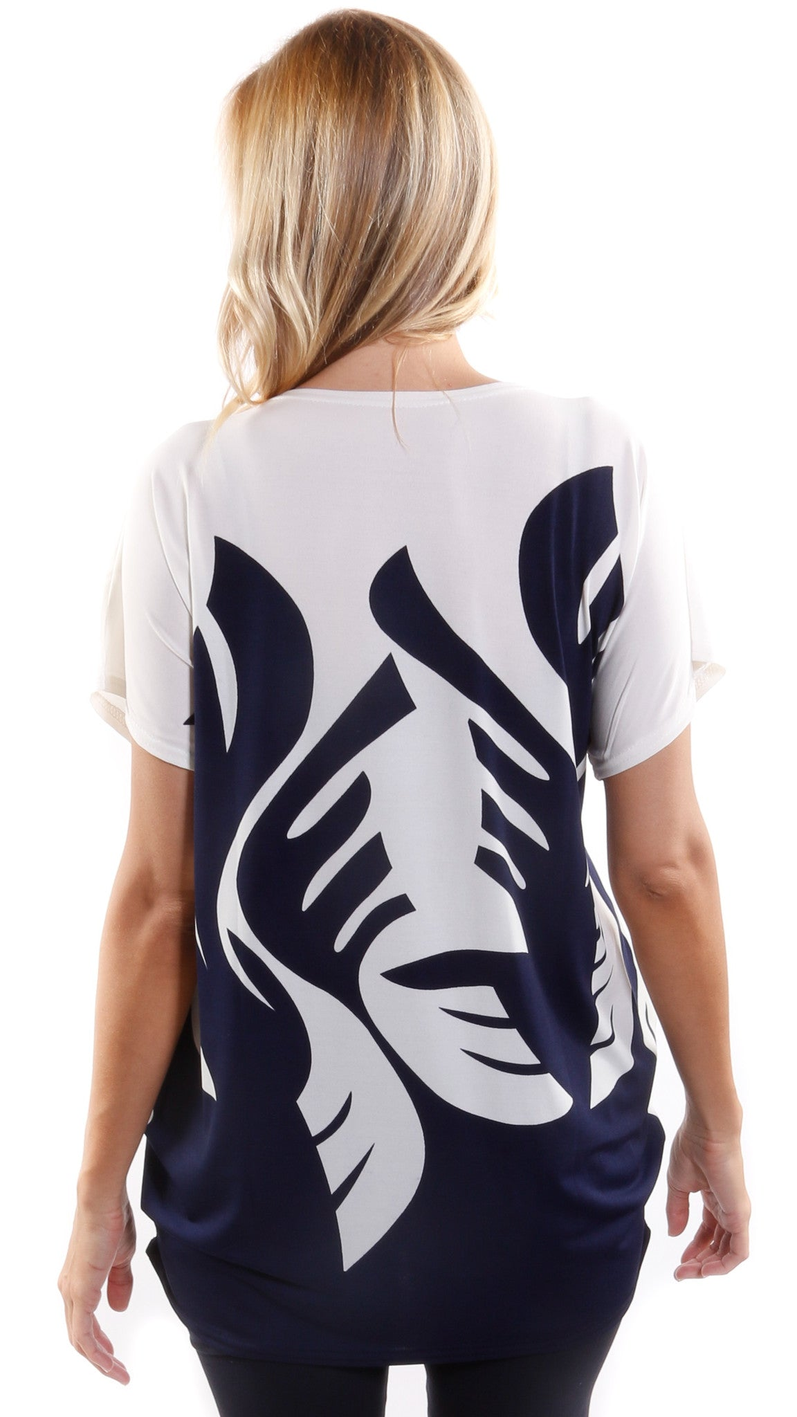 Abstract Print Top