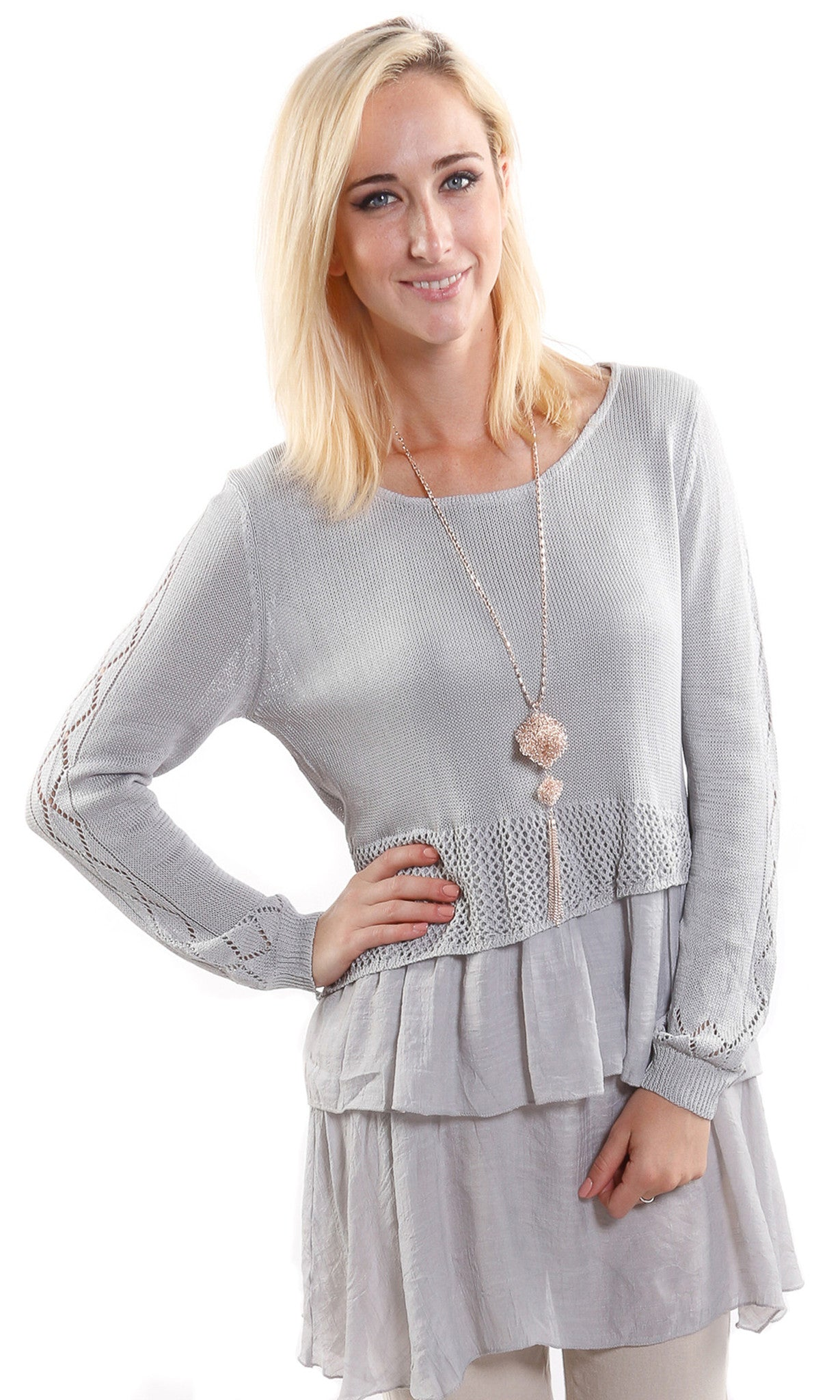 Crochet Tunic Top