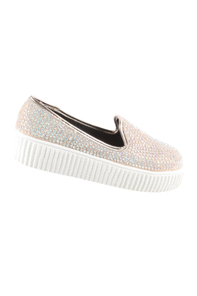 Studded Slip On Sneaker