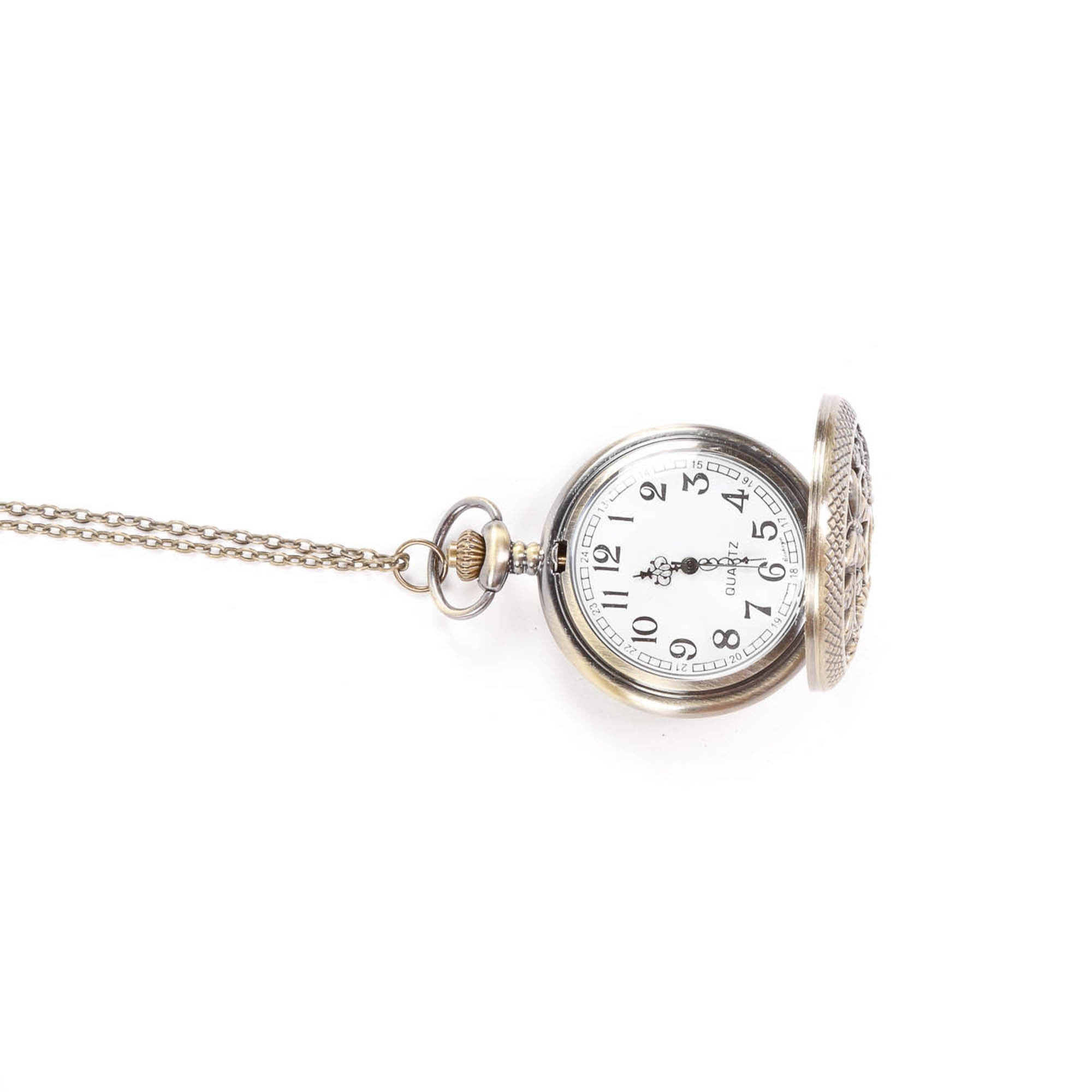Timepiece Fashion Necklace