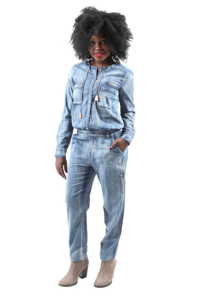 Lisa Denim Jumpsuit