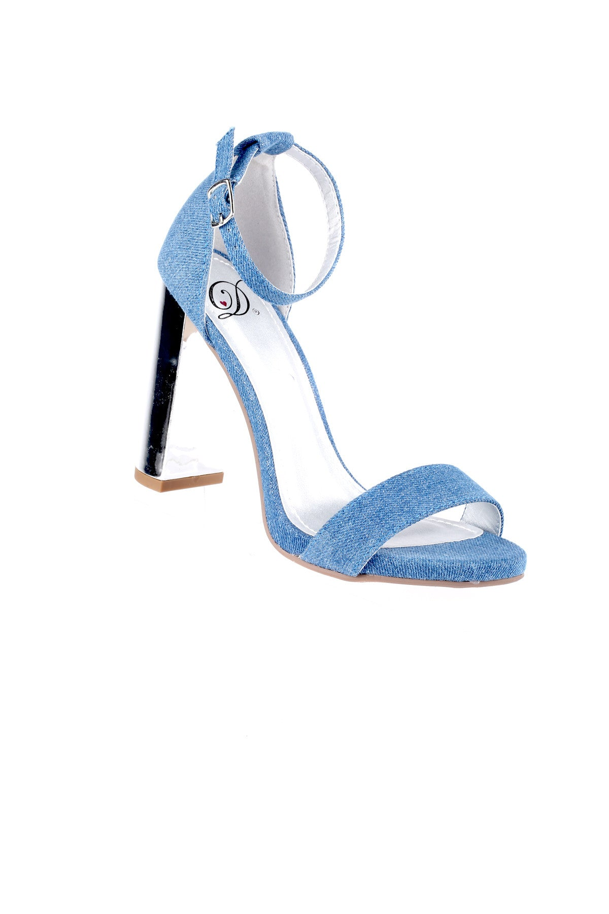 Open Toe Heeled Dress Sandal