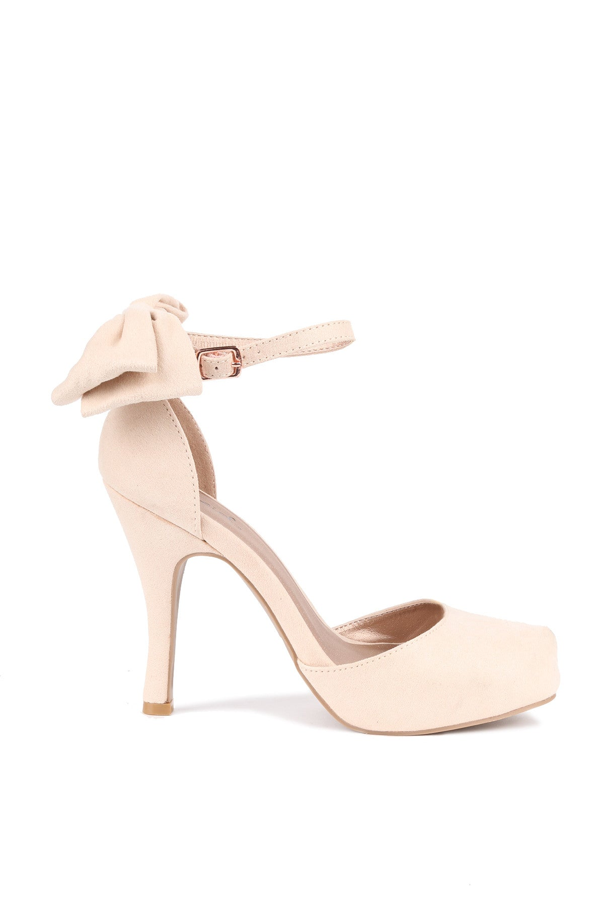 Ankle Strap High Heel Platform Pump Shoes