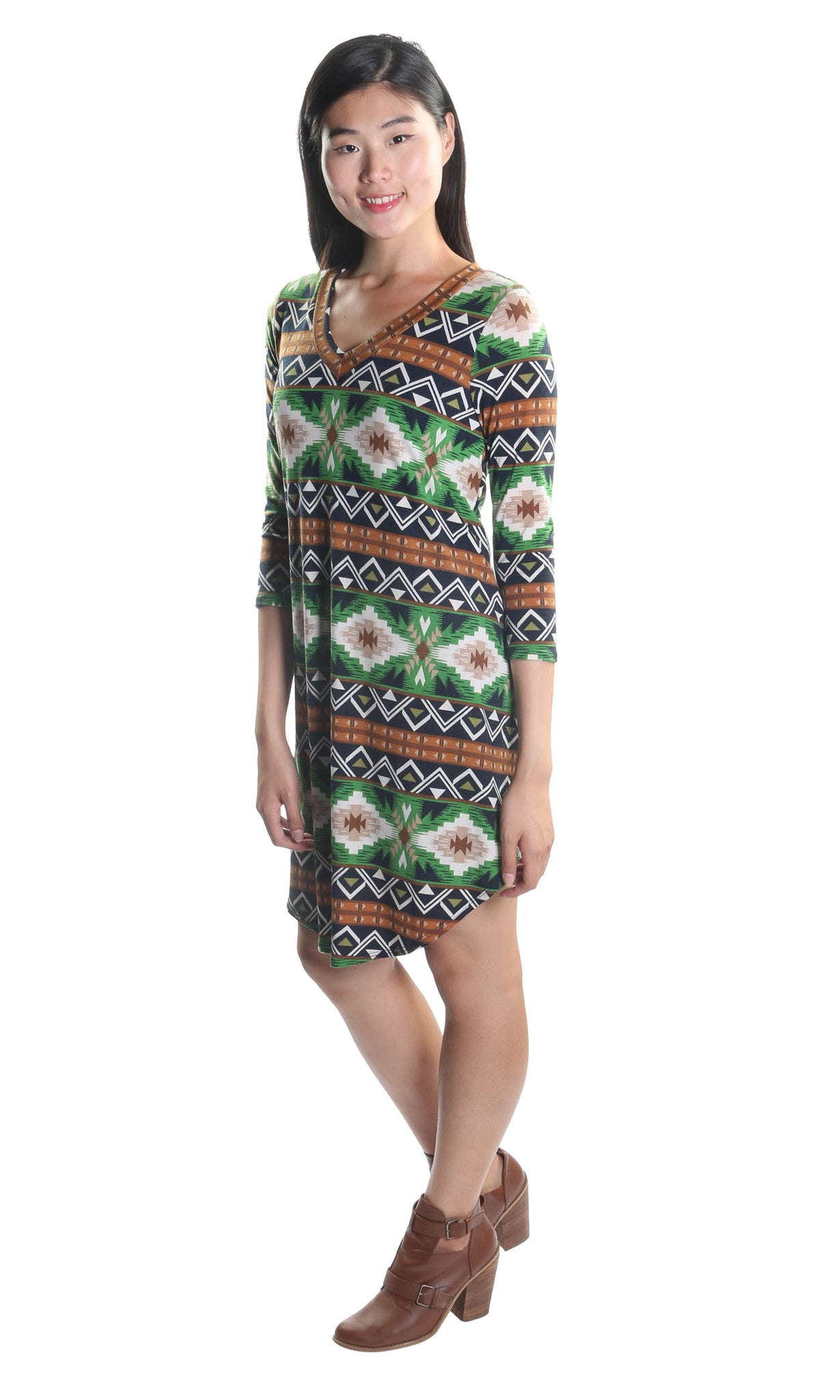 Boho Short Shift Dress