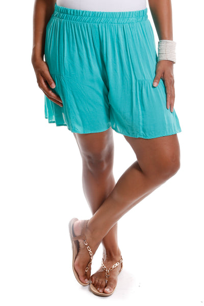 Plus Size Loose Lightweight Shorts