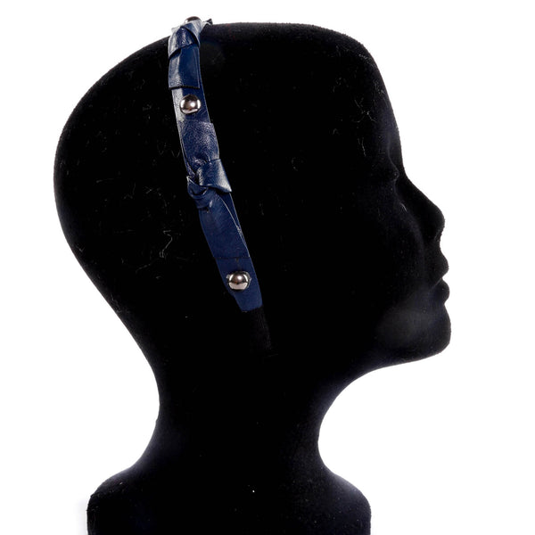 Studded Tie Fashion Headband