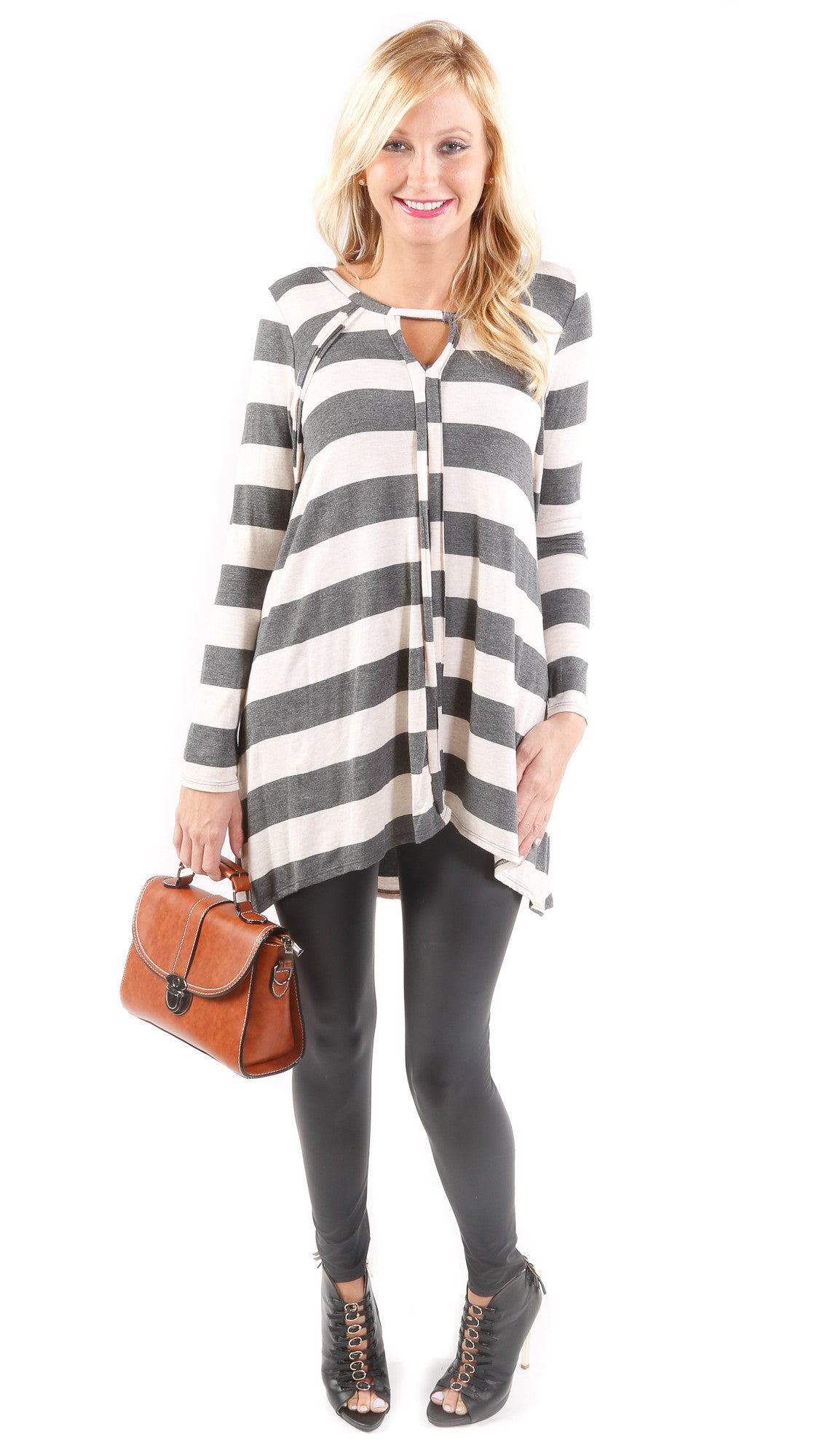 Casual Stripe Blouse