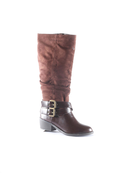Saniya Knee High Buckle Strap Boots