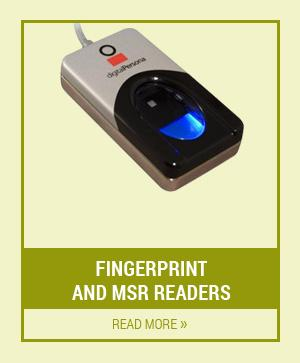 Fingerprint and MSR Readers