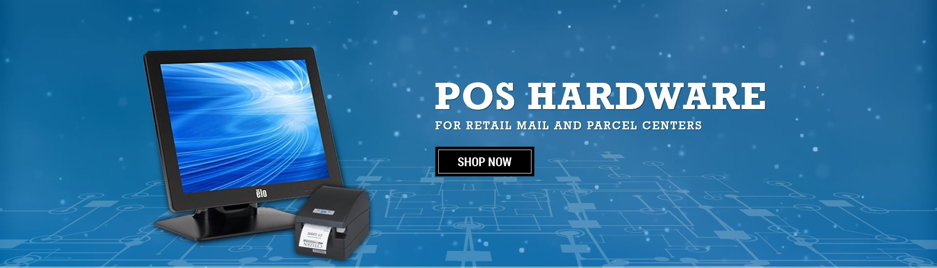 POS Hardware for Retail Mall and Parcel Centers
