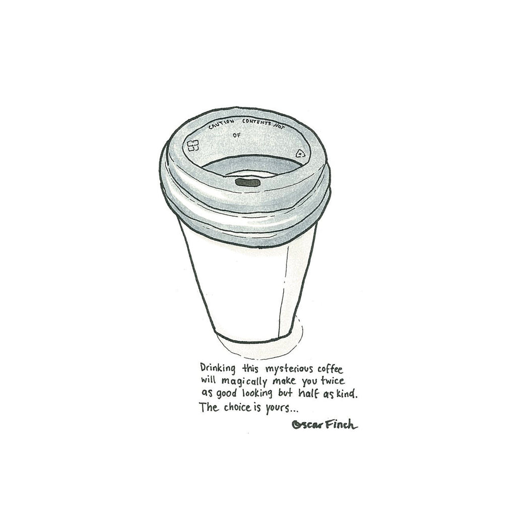 The magical takeaway coffee
