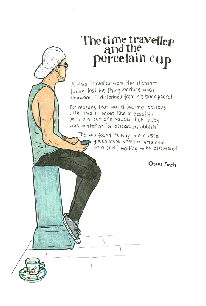 The Time Traveller & The Porcelain Cup