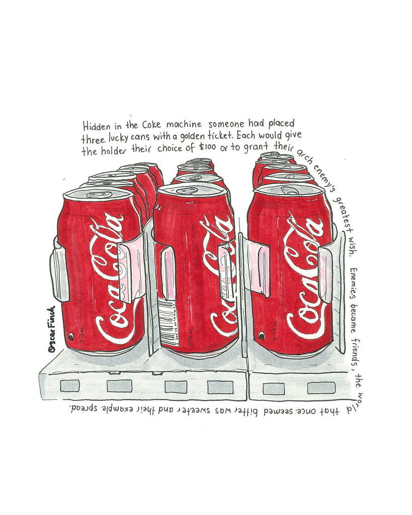 The Coca-Cola Cans and Your Arch Enemy