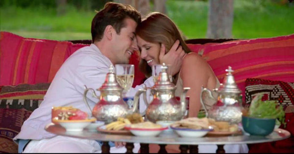 Moroccan tea time at the bachelor! - Mira's Hand