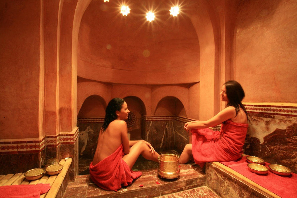 Benefits of a weekly hammam