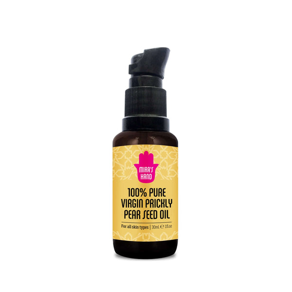 100% Pure Moroccan prickly pear seed oil - Mira's Hand