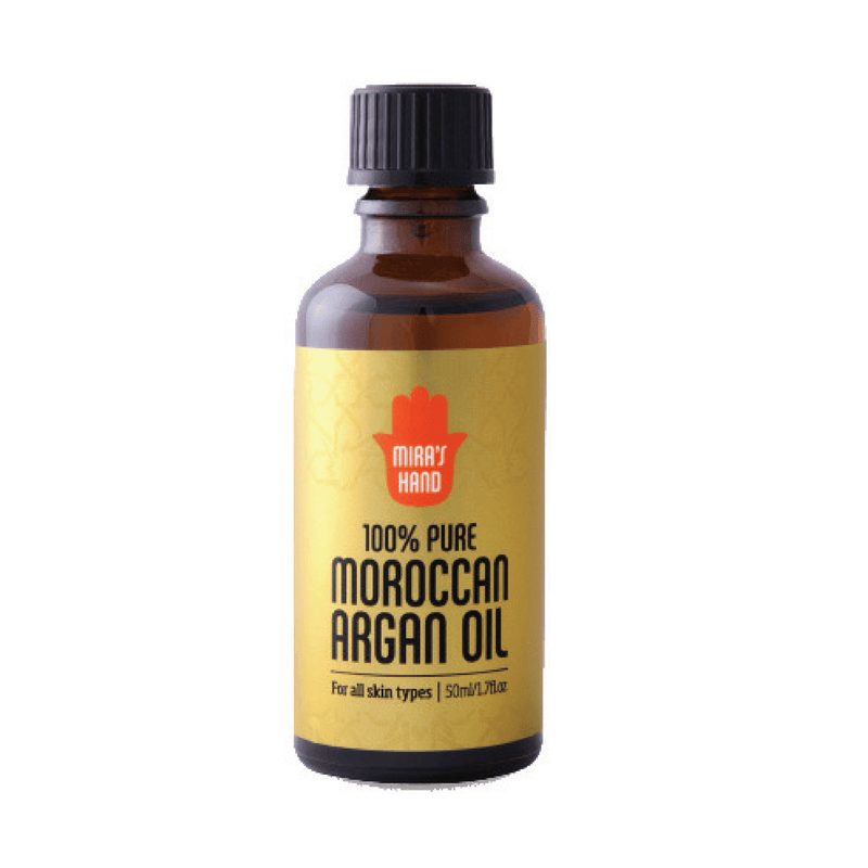 100% pure and premium organic Moroccan argan oil - Mira's Hand