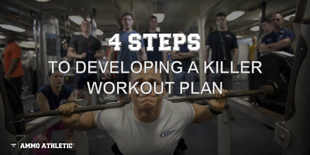 4 Steps To Developing A Killer Workout Plan