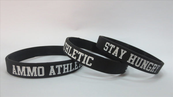 Stay Hungry™ Wristband - AMMO Athletic