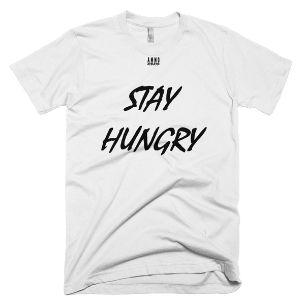 Men's Stay Hungry Lettered T-Shirt - AMMO Athletic - 11