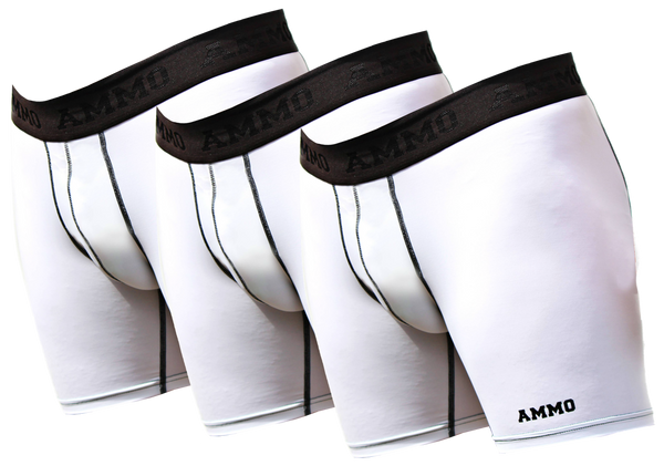 The Original AMMO Loaded™ Base Layer Short 3-Pack - AMMO Athletic - 2