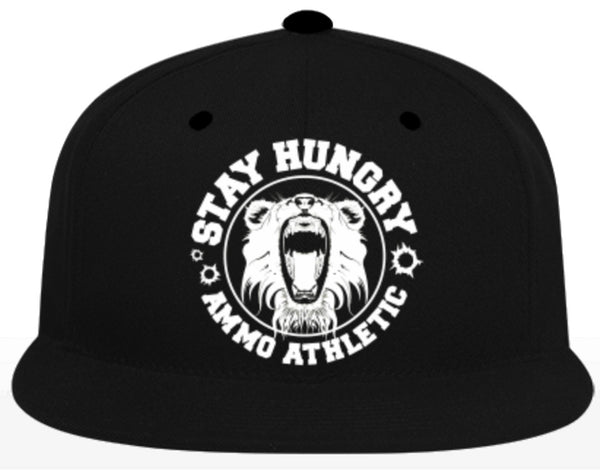 Stay Hungry Snapback - AMMO Athletic - 3