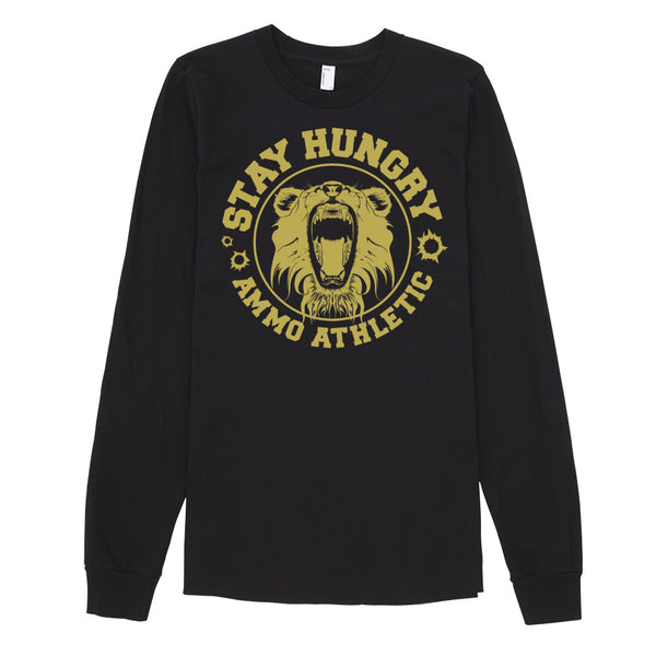 Unisex Long-Sleeve Stay Hungry T-Shirt - AMMO Athletic - 2