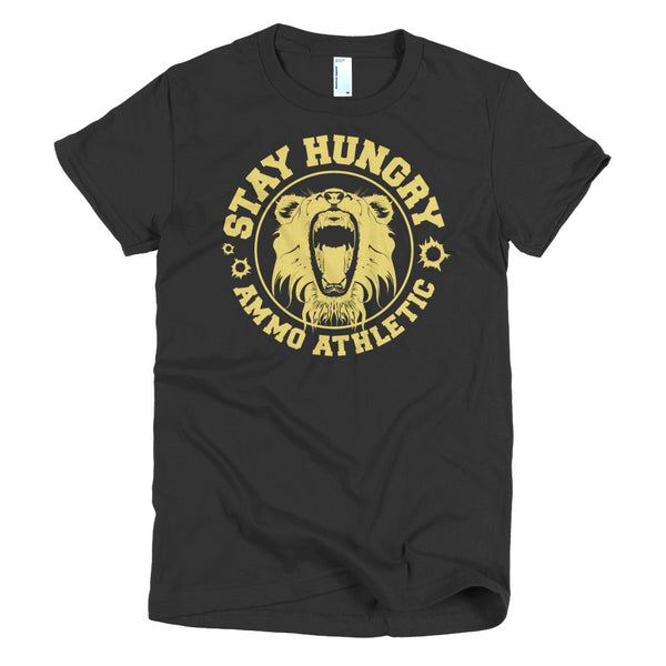 Women's Stay Hungry Roar T-Shirt - AMMO Athletic - 3