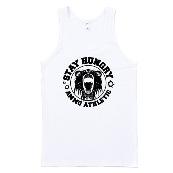Men's Stay Hungry Roar Tank - AMMO Athletic - 7