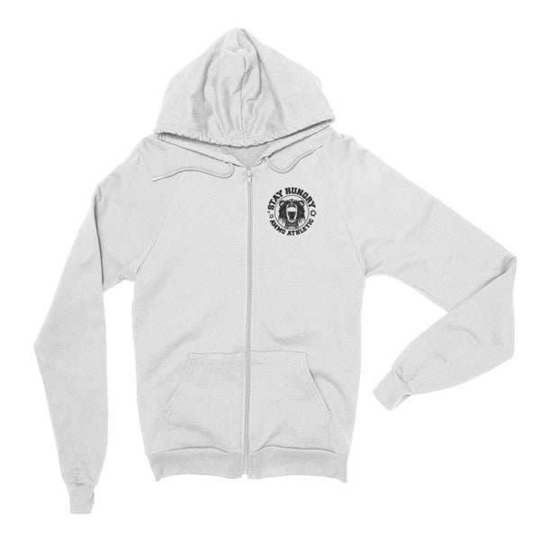 Unisex Stay Hungry Zip Hoodie - AMMO Athletic - 2