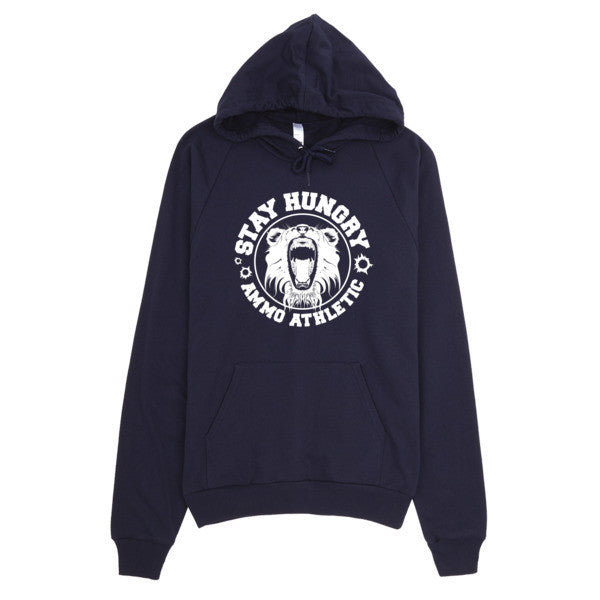 Unisex Stay Hungry Pullover Hoodie - AMMO Athletic - 5