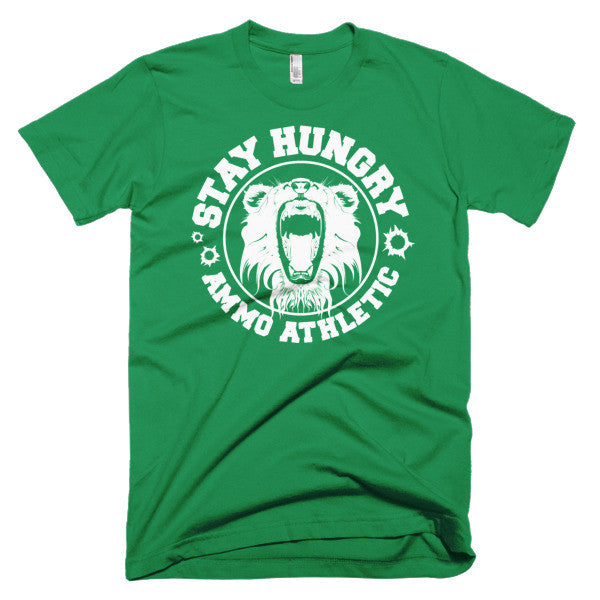 Men's Stay Hungry Roar T-Shirt - AMMO Athletic - 6