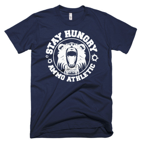 Men's Stay Hungry Roar T-Shirt - AMMO Athletic - 4