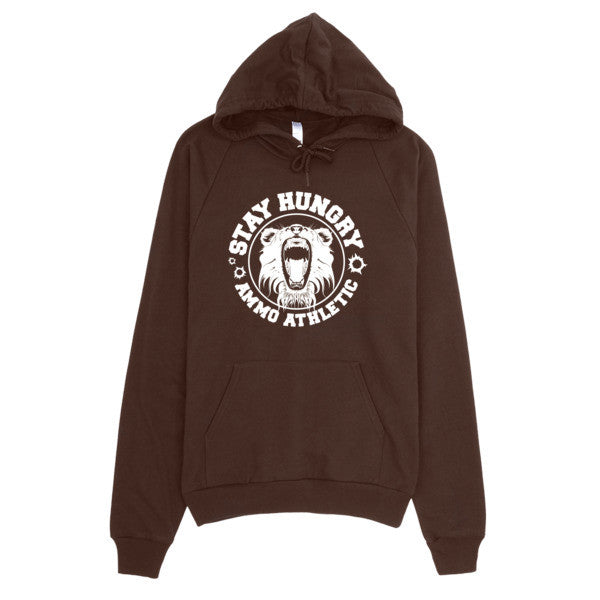 Unisex Stay Hungry Pullover Hoodie - AMMO Athletic - 4